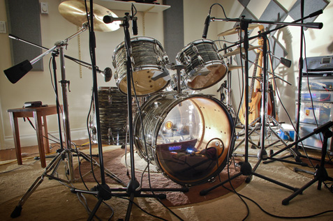 Ludwig Ocean Pearl Drum Kit