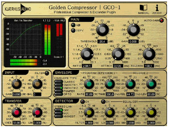 Compression during mixing