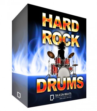 Hard Rock Drum Loops -WAV Files, Apple Loops and Rex2