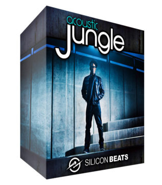 Live 'Acoustic Jungle Drum Loops' for your Jungle and DnB beats.