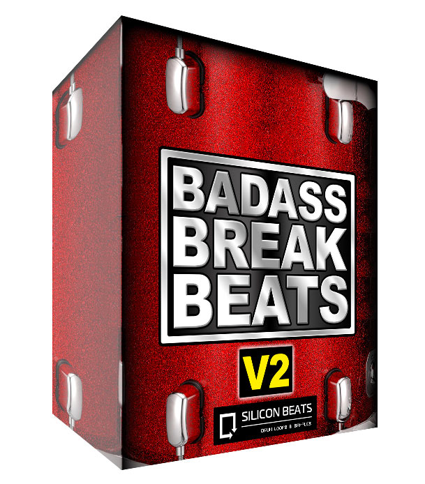 'Badass Breakbeats V2' - Drum Loops Sample Packs.