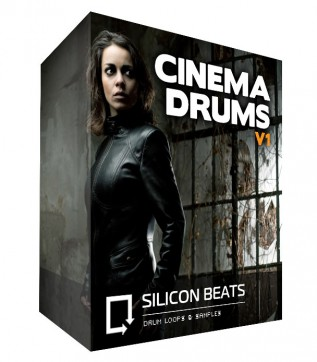 Cinematic Drum Loops - 'Cinema Drums V1', Instant Download.