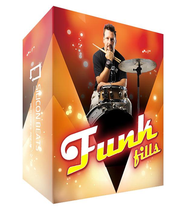 Funk Drum Fills - WAV Files, Rex2 and Apple Loops