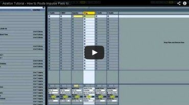 How To Route Impulse Pads to Audio Tracks in Ableton
