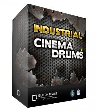 Download 'Industrial Cinematic Drums V1' by Silicon Beats
