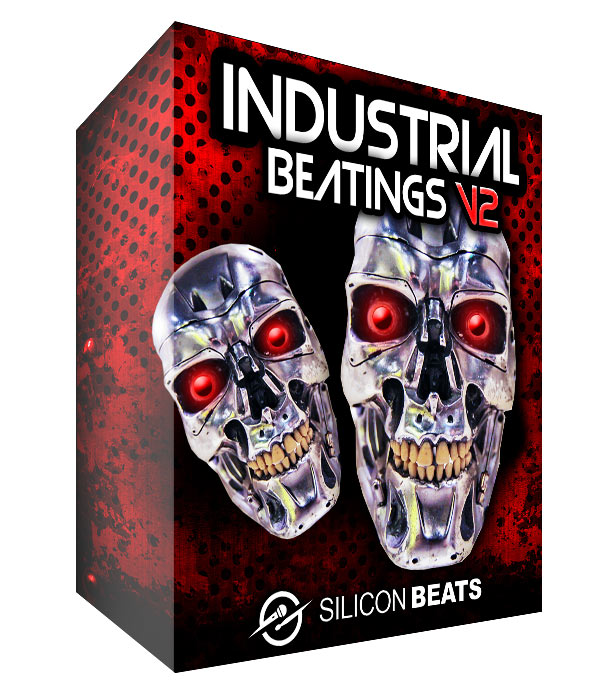 Industrial Beatings V2 -Hard and heavy drum loops