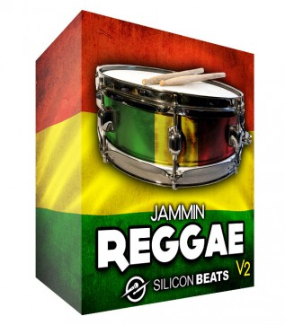 Jammin Reggae V2 - Drum Loops