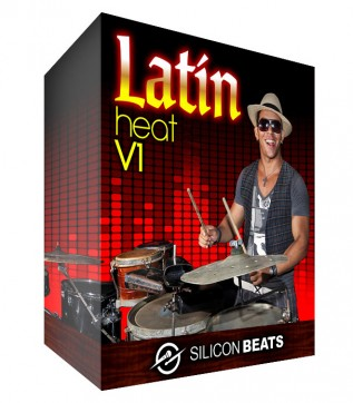 Latin Drum Loops - 'Latin Heat V1'.