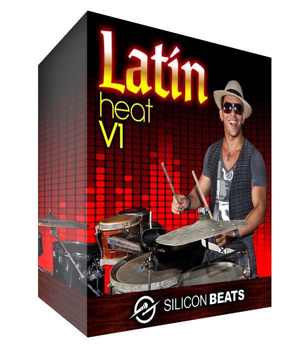 Latin Drum Loops - 'Latin Heat V1'.