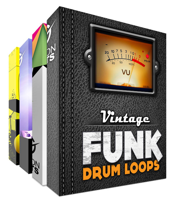 Mega Funk Drum Loops