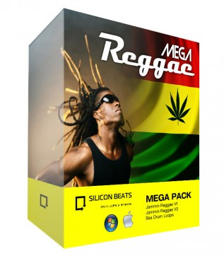 Mega Reggae Drum Loops