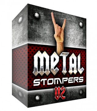 Metal Drum Loops - Stompers V2