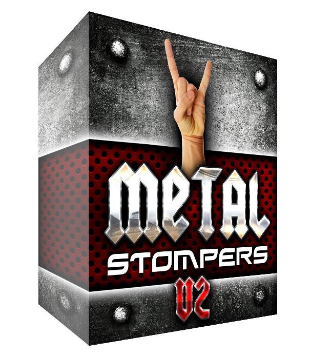 Metal Drum Loops - Stompers V2