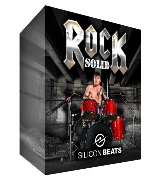 Rock Drum Loops - 'Rock Solid' Instant Download.