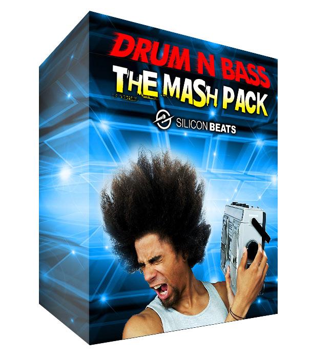 Drum n Bass Drum Loops - 'The Mash Pack' download.