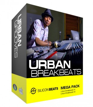 Urban Breakbeats Drum Loops Mega Pack