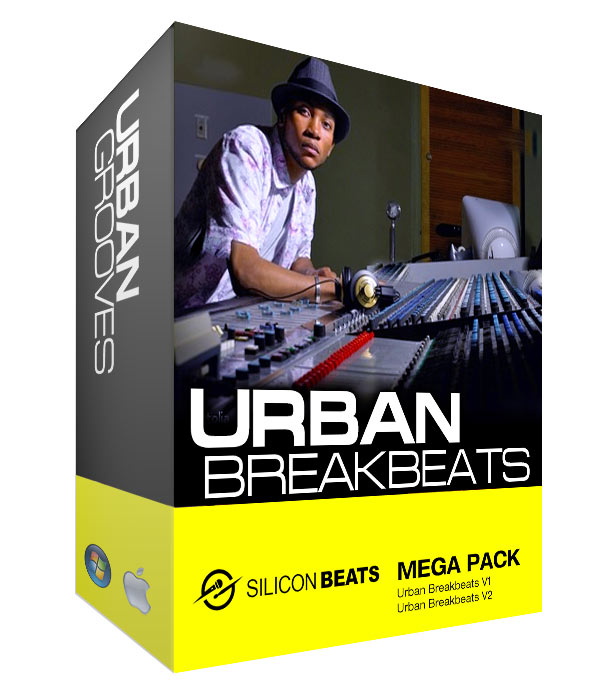 Urban Breakbeats Drum Loops Mega Pack