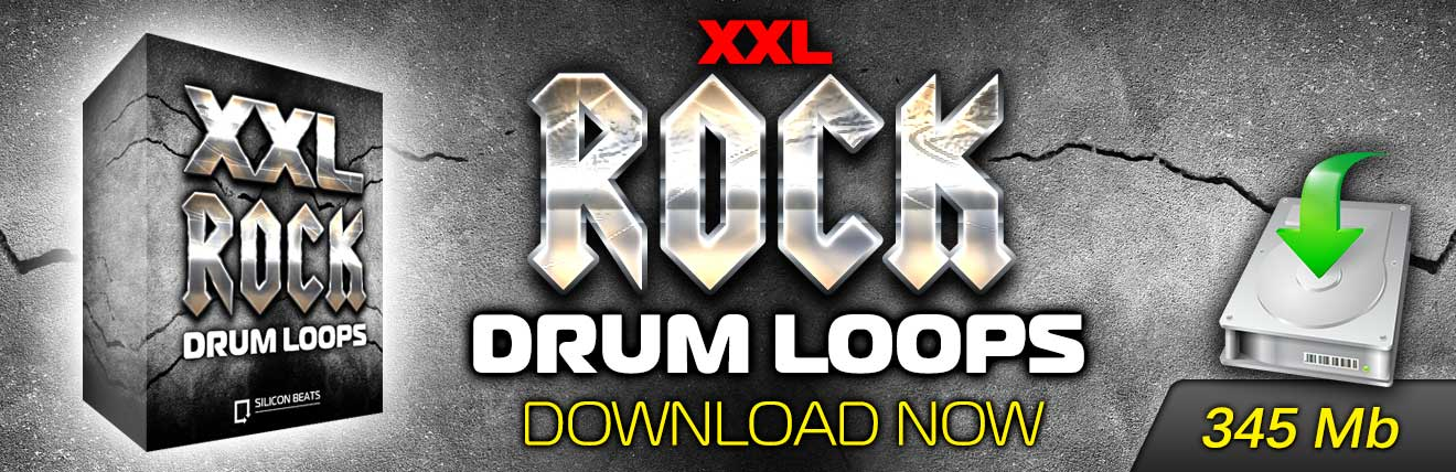 XXL Rock Drum Loops