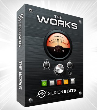 The Works DVD Set of Drum Loops and Sample CD