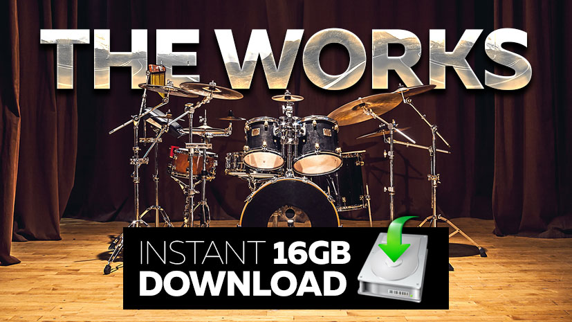 'The Works' - 15 Gb Drum Loops Download