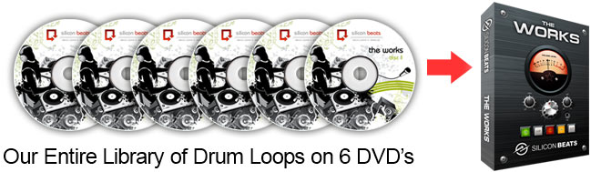 Thousands of Drum Loops Sample CD's