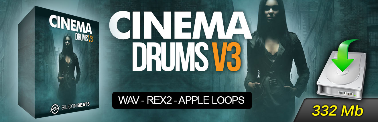 Cinema Drum Loops