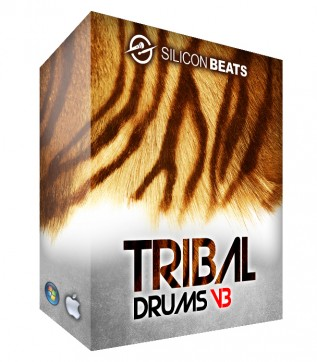 Cinematic Tribal Drum Loops for Sound Tracks
