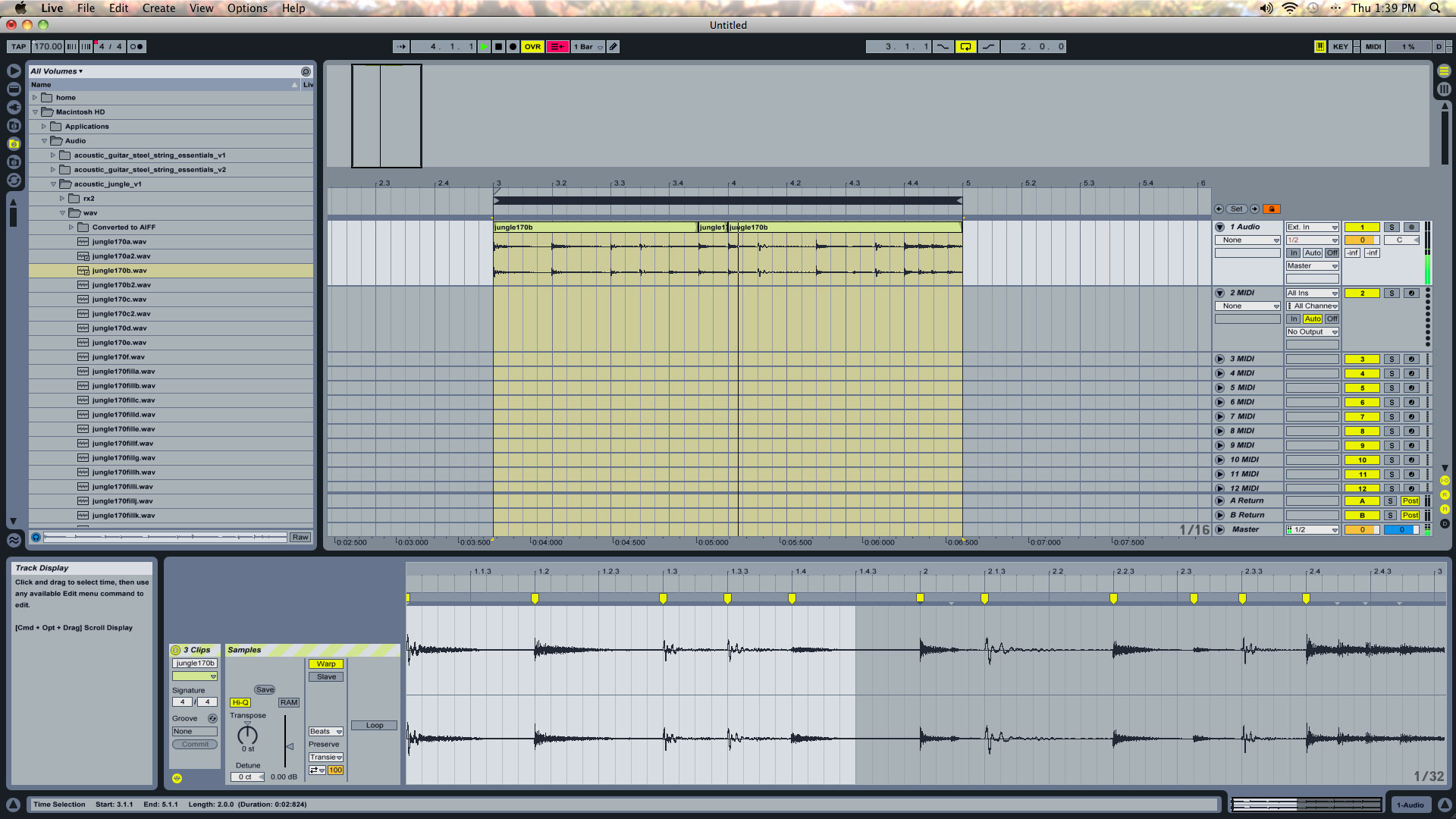 Ableton Drum Loops - Learn How to Resequence and Quantize