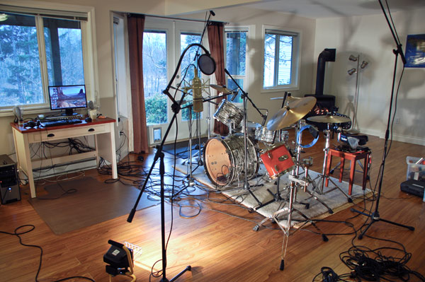 How to Record a Kick Drum - Mic Placement