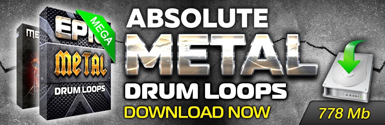 Absolute Metal Drum Loops is here