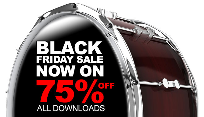 Black Friday Drum loops Sale Now On