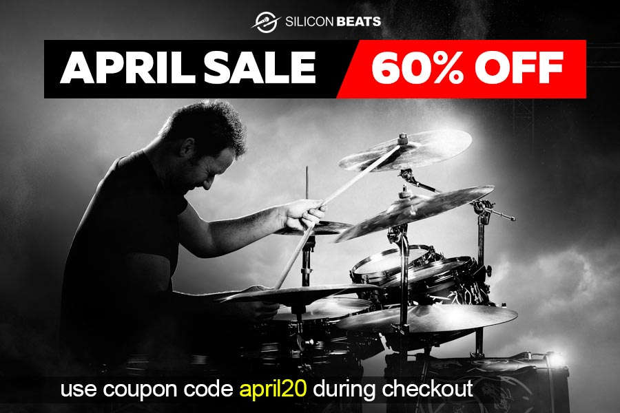 Get 60% Off Your Drum Loops in our April Sale