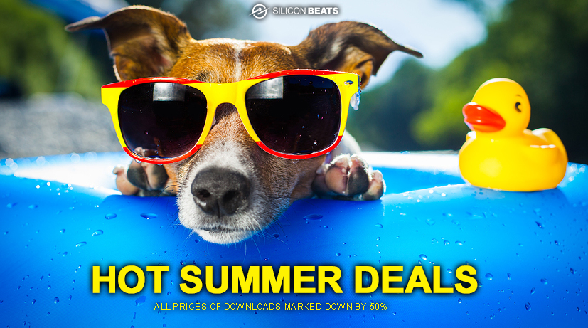 Drum Loops and Samples in the Silicon Beats Summer Sale