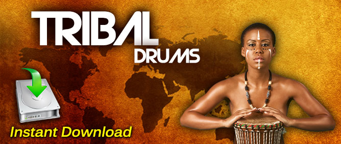 Tribal Drum Loops Mega Pack