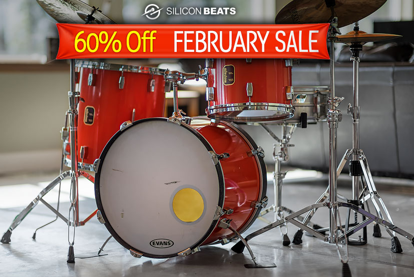 Get Your Drum Loops and Drum Samples in the February Sale