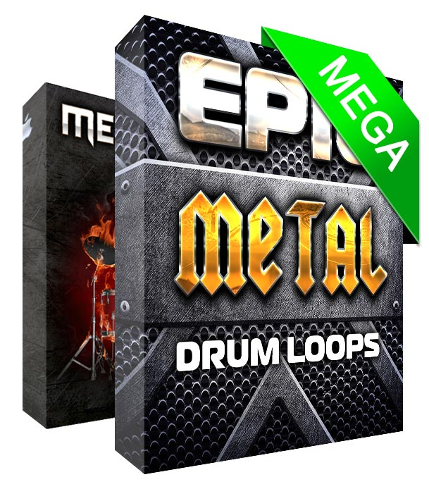 Absolute Metal Drum Loops MegaPack
