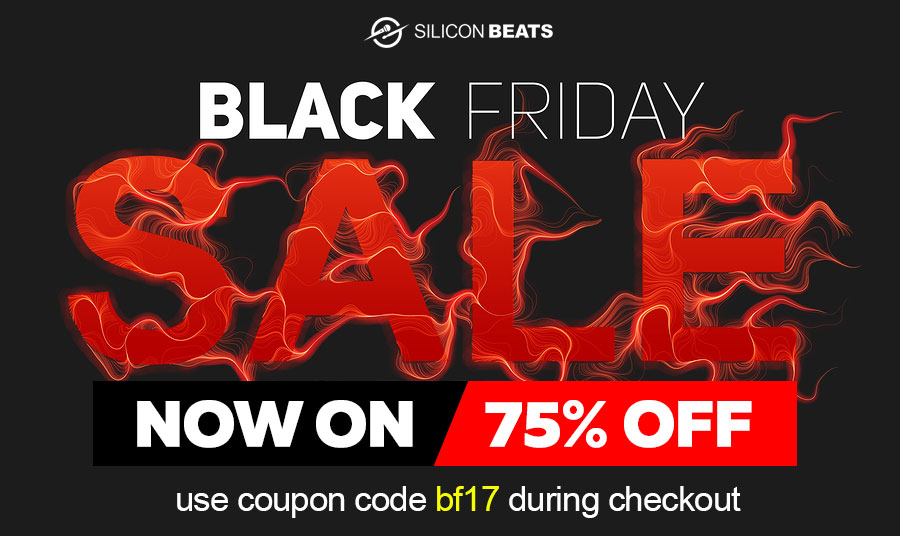 Get Your Drum loops and drum samples in the Black Friday Sale
