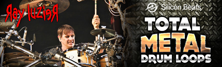 Ray Luzier - Total Metal Drum Loops - Silicon Beats
